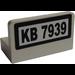 LEGO Panel 1 x 2 x 1 with 'KB 7939' Sticker (4865)