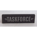LEGO Panel 1 x 4 x 1 with Rounded Corners with 'TASKFORCE' Sticker (15207)