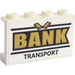 LEGO Panel 1 x 4 x 2 with 'BANK TRANSPORT' AND Gold Bars Sticker (14718)