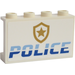 LEGO Panel 1 x 4 x 2 with 'POLICE' and Badge Sticker (14718)