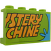 """LEGO Panel 1 x 4 x 2 with """"STERY"""" and """"CHINE"""" Sticker (14718)"""