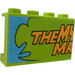 """LEGO Panel 1 x 4 x 2 with """"THE MY"""", """"MA"""" and Notes, Photos on the Board Inside Sticker (14718)"""