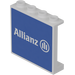 LEGO Panel 1 x 4 x 3 with 'Allianz' Decoration Sticker (60581)