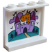 LEGO Panel 1 x 4 x 3 with Castle, Dragon, Trees and Clouds Sticker with Side Supports, Hollow Studs (35323)