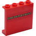 LEGO Panel 1 x 4 x 3 with 'Fire Department' Sticker with Side Supports, Hollow Studs (35323)