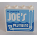 LEGO Panel 1 x 4 x 3 with JOE'S PLUMBING Sticker (35323)