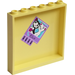 LEGO Panel 1 X 6 X 5 With 2 Cats 'ella' Sticker From Set 41005 (59349)