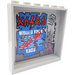 """LEGO Panel 1 x 6 x 5 with """"WORLD TOUR"""", """"SOLD OUT"""" and """"1985"""" Sticker (35286)"""