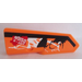 LEGO Panel 22 Left with GRF-X DSIGN Sticker (11947)