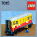 LEGO Passenger Carriage / Sleeper Set 7815
