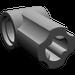 LEGO Pearl Dark Gray Angle Connector #1 (32013)