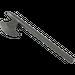 LEGO Pearl Dark Gray Minifig Battleaxe (3848)
