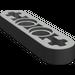 LEGO Pearl Dark Gray Technic Beam 4 x 0.5 with Axle Hole each end (32449)