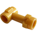 LEGO Pearl Gold Bar 1L with Top Stud and Two Side Studs (92690)