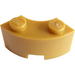 LEGO Pearl Gold Corner Brick 2 x 2 with Stud Notch and Reinforced Underside (85080)
