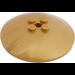 LEGO Pearl Gold Dish 6 x 6 Inverted (Radar) Solid Studs (44375)