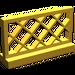 LEGO Pearl Gold Fence Lattice 1 x 4 x 2 (3185)