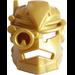 LEGO Pearl Gold Helmet 2012 (98574)