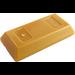 LEGO Pearl Gold Ingot (99563)