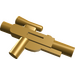 LEGO Pearl Gold Minifig Gun Short Blaster