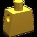 LEGO Pearl Gold Minifig Torso (88476)