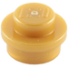 LEGO Pearl Gold Plate 1 x 1 Round (6141)