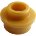 LEGO Pearl Gold Plate 1 x 1 Round with Open Stud (28626 / 85861)