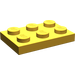 LEGO Pearl Gold Plate 2 x 3