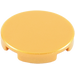 LEGO Pearl Gold Round Tile 2 x 2 with Normal Bottom (4150)