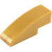 LEGO Pearl Gold Slope Curved 3 x 1 (50950)