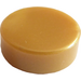 LEGO Pearl Gold Tile 1 x 1 Round (35381 / 98138)