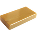 LEGO Pearl Gold Tile 1 x 2 with Groove (3069)