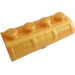 LEGO Pearl Gold Treasure Chest Lid 2 x 4 with Thick Hinge (4739 / 29336)