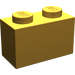 LEGO Pearl Light Gold Brick 1 x 2 (3004)