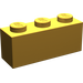 LEGO Pearl Light Gold Brick 1 x 3 (3622)