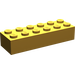 LEGO Pearl Light Gold Brick 2 x 6 (2456)