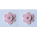 LEGO Pink 4 Flower Heads on Sprue (3742)