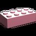 LEGO Pink Brick 2 x 4