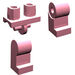 LEGO Pink Minifigure Hips and Legs