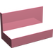 LEGO Pink Panel 1 x 2 x 1 without Rounded Corners