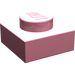 LEGO Pink Plate 1 x 1 (3024)