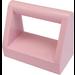 LEGO Pink Tile 1 x 2 with Handle (2432)