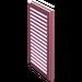 LEGO Pink Window 1 x 2 x 3 Shutter (3856)