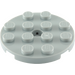LEGO Plate 4 x 4 Round with Hole and Snapstud (60474)