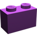 LEGO Purple Brick 1 x 2 (3004)