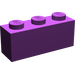 LEGO Purple Brick 1 x 3 (3622)