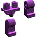 LEGO Purple Minifigure Hips and Legs