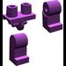LEGO Purple Minifigure Hips and Legs