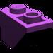 LEGO Purple Slope 1 x 2 (45°) Inverted (3665)