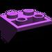 LEGO Purple Slope 45° 2 x 2 Inverted (3660)